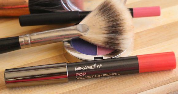 Mirabella veludo cor de lábio avaliação de veludo -pop