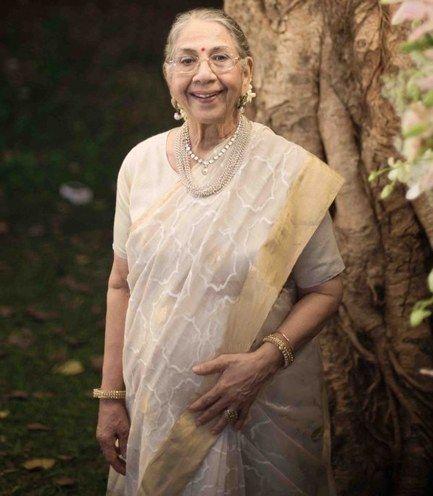 estilos saree para a mãe da noiva