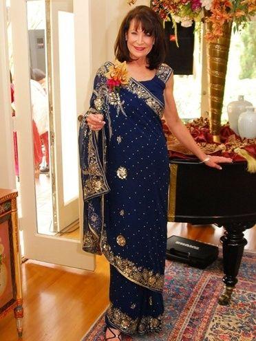 saree para a mãe da noiva