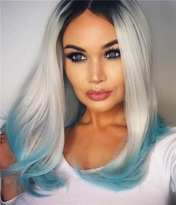 Deve saber cabelos brancos cor tendência 2016