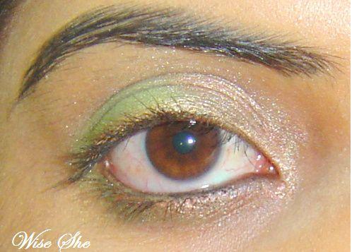 Minha primeira composição do olho simples