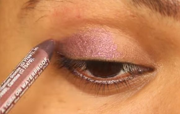 Meu navratri / garba olhar maquiagem-101