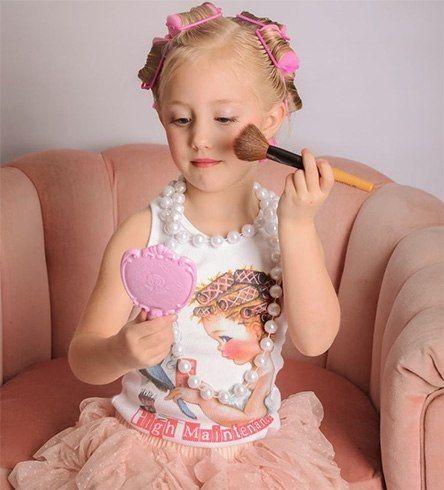 dicas de maquiagem para as crianças