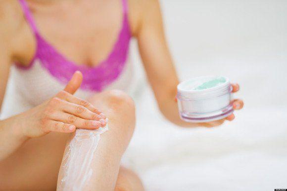 hidratante para a pele