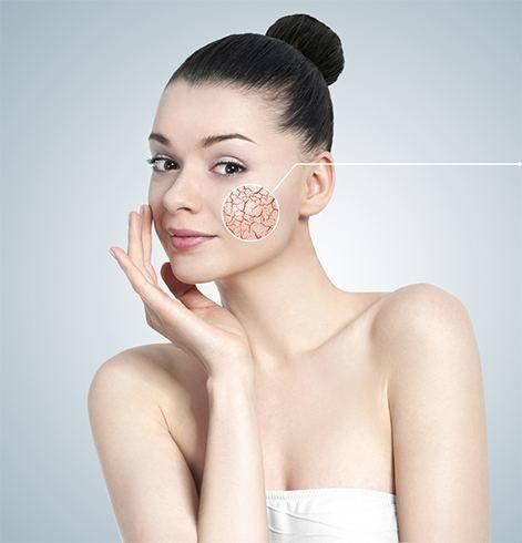 Produtos para a pele sensível