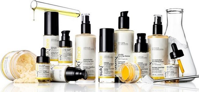Sensitive de pele orgânico Produtos de beleza