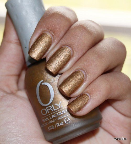Orly laca Solid Gold