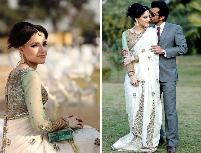 Nupcial Trousseau de uma noiva paquistanesa