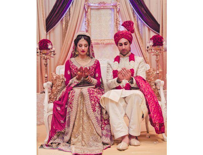 Brides paquistaneses em Shararas
