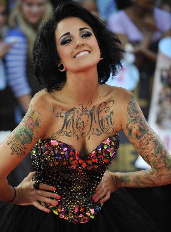 Phoebe Dykstra`s Tattoos, Sleeve Tattoo