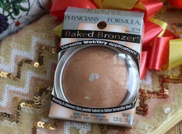 Fórmula médico bronzing cozido bronzer e cintilantes fotos rosto em pó e swatches