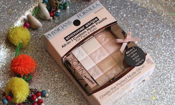 Médico fórmula de shimmer tiras all-in-1 paleta personalizada nua para rosto e natural olhos-nu