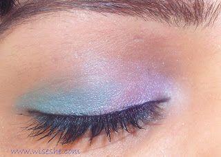 Pink olho tornar-se-olho compõem tutorial com o passo a passo fotos