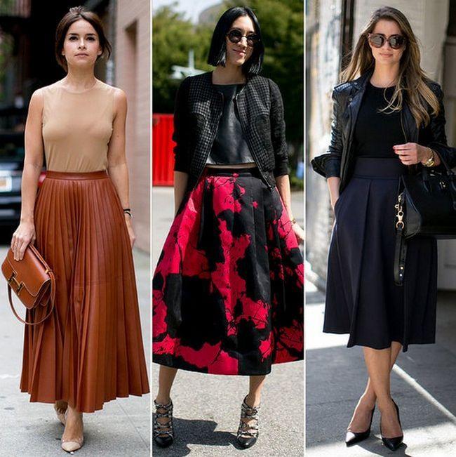 Saias bastante completo para o mais novo fashion week estrela