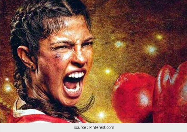 Priyanka Chopra como Mary Kom