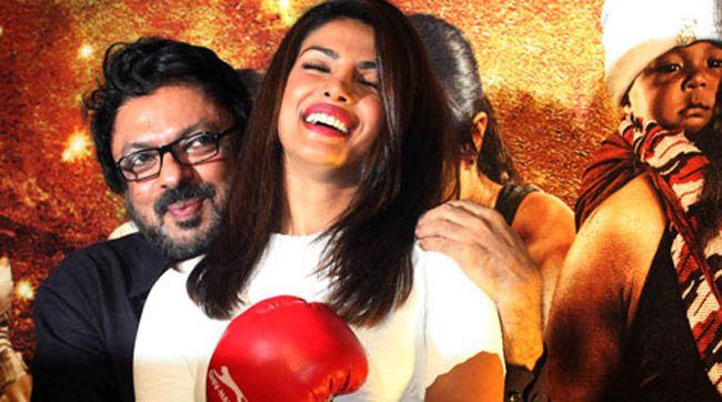 Priyanka Chopra com Sanjay Leela Bansali