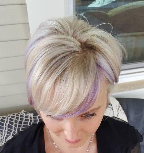 22 Sassy roxo destaque penteados (para curto, médio, longo cabelo)