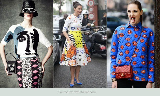 Impressões peculiares para o fashionista
