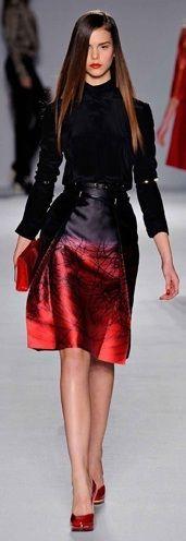 vestido vermelho e preto legal para mulheres