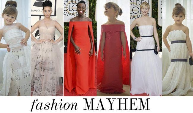 Tapete vermelho inspirado vestidos mayhem: bonito é o novo hot