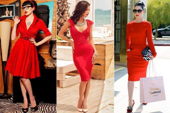 Ideias roupa vestido vermelho que não necessariamente precisa gritar ott ou muito alto!
