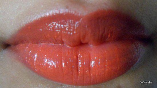 Revlon Super Lustrous Creme Lipstick em beijam-me Coral comentário + Revlon coral amostra batom