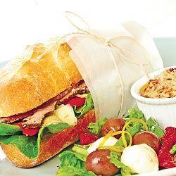 carne assada e vegetais roll