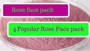 Rose benefícios máscara de beleza e 4 maneiras de usá-lo