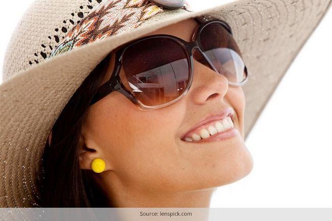 Estilo de face óculos redondo que você pode emparelhar-se com roupas profissional