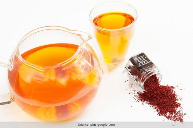 Receita de chá de açafrão: obter o seu metabolismo bombeado com isso!