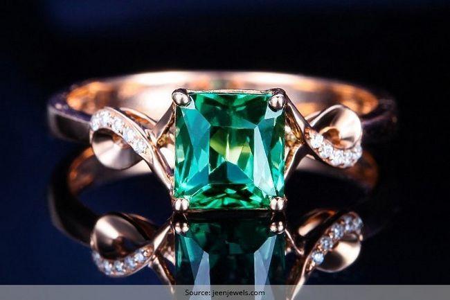 Safira e anel de noivado esmeralda projetos de exibir até a eternidade