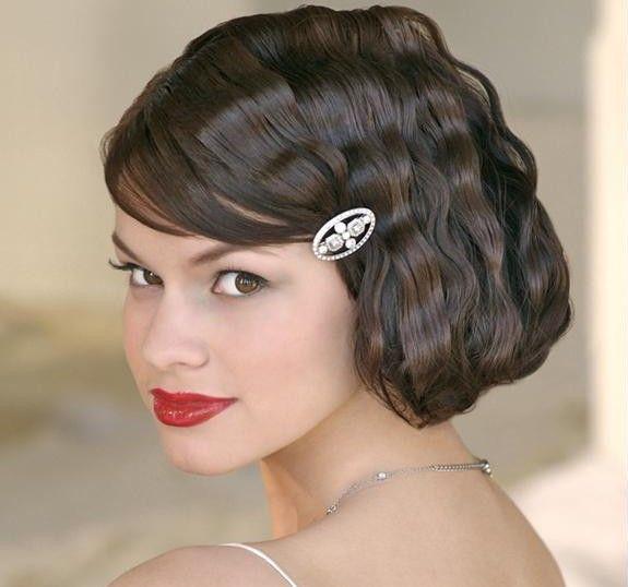 Idéias penteado de noiva curto - 22 cortes de cabelo curtos de noiva