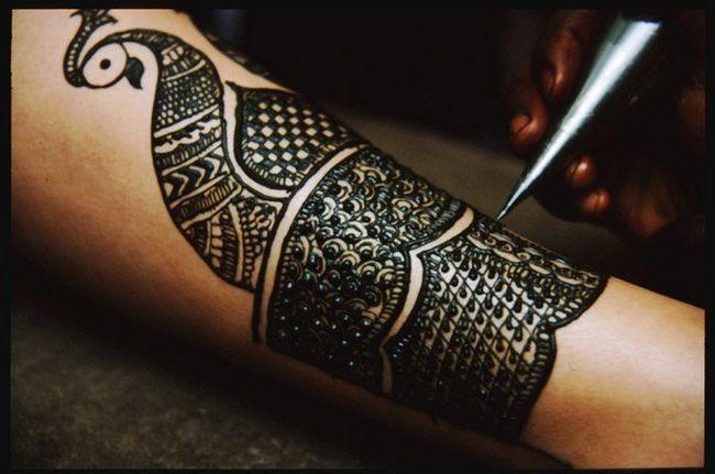 henna cultura indiana