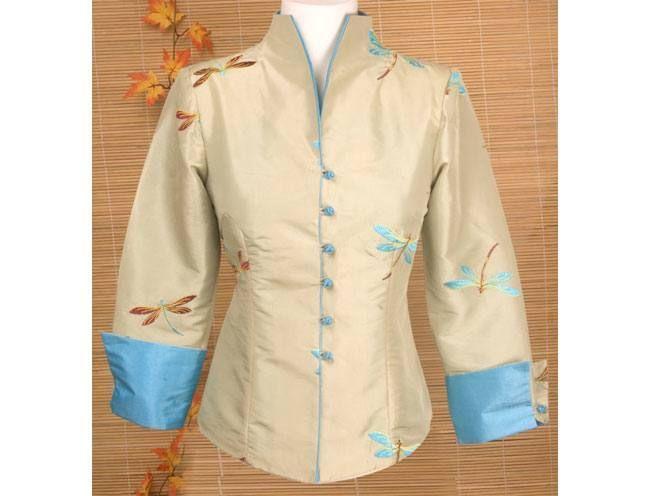 Jacket Dragonfly Silk