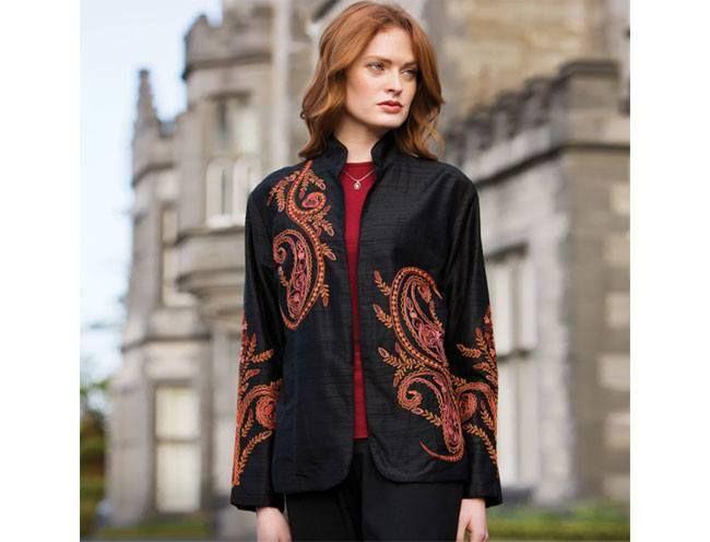 Jacket Taj Mahal Silk