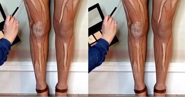 Dicas Contorno perna