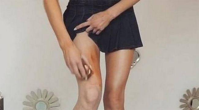 melhor maneira de contornar Suas pernas