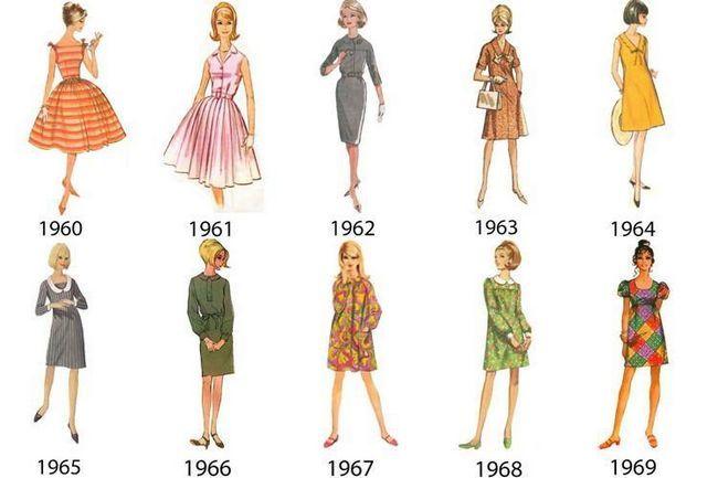 Estilos sixties moda reinventada para 2015