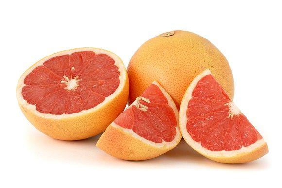 Pele e saúde benefícios de grapefruit