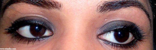 Smokey maquiagem dos olhos em cinco minutos com mac lata de tinta