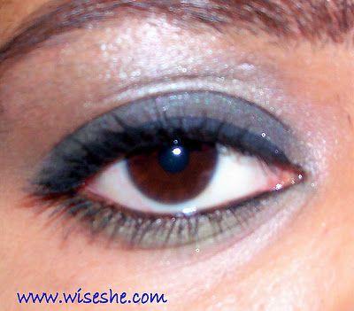 Smokey olhos tutorial com o passo a passo fotos