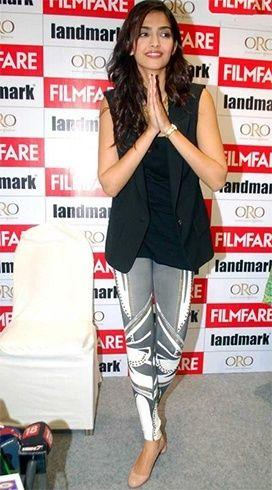 estilo de vestir Sonam Kapoor