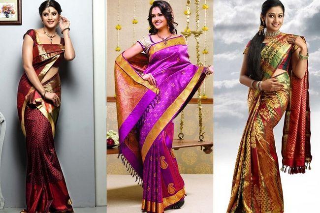 Sarees de casamento do sul da índia: intocado pela mudança na moda