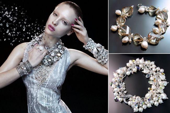 Swarovski jóias de noiva para ser o que você espumantes