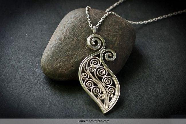 Spectacular jóias de prata artesanais que é fabuloso