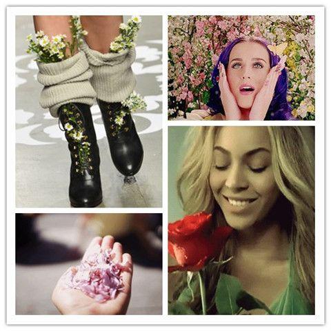 Flores da mola | ir para lindos looks com belas flores