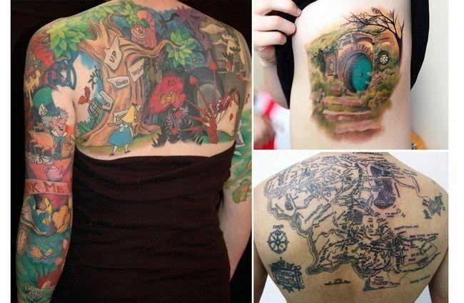 tatuagem desenhos Fantasyland