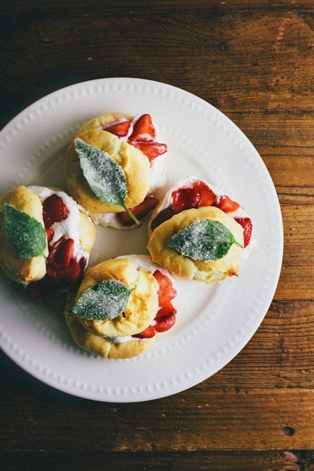 Receita Strawberry Tart Fácil