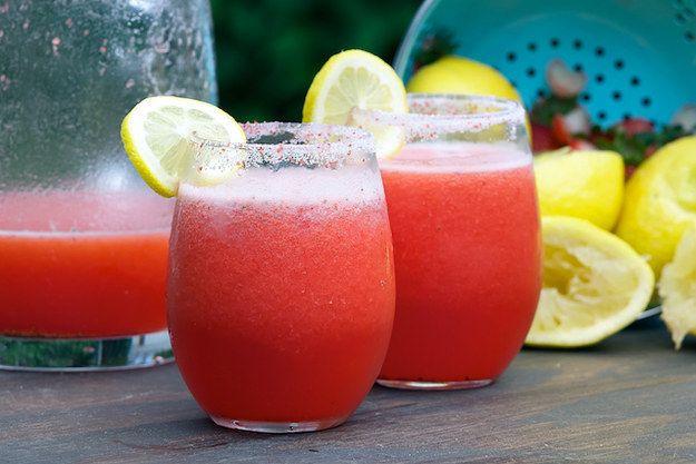 Limonada da morango Vodka