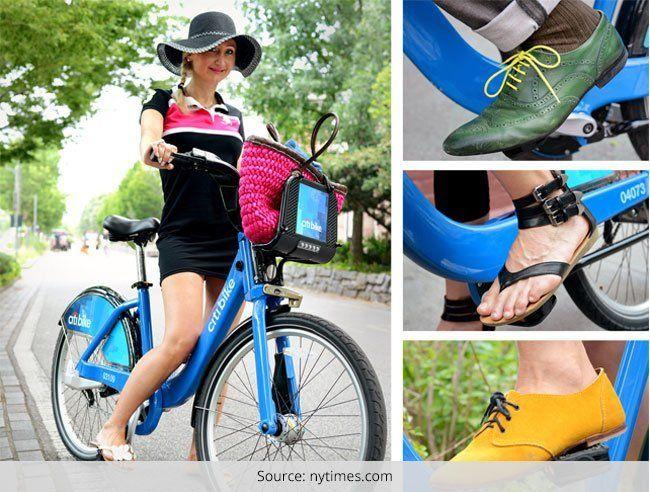 Estilo de rua para as mulheres bike!